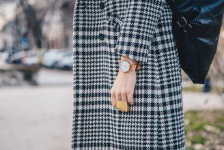 ジャケット&コートからスカート&パンツまで。秋冬定番トレンド、グレンチェックのコーデ