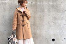 ノーカラーコートもダッフルも。GUのウールブレンドコートがデイリーコーデに役立つ