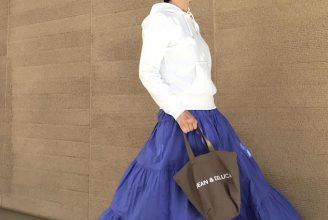 人気の白カラーも。おすすめティアードスカート2019春夏