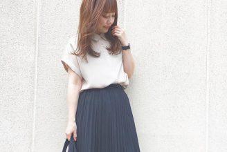 【GU】エアリーシャツのコーデ。サイズ感も2019春夏
