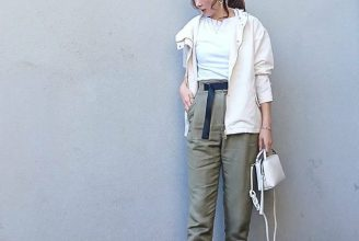 【GU】マウンテンパーカーのコーデ。人気の白カラーからサイズ感も2020春夏