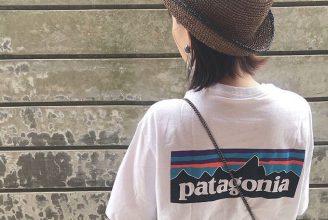 P-6 ロゴ・レスポンシビリティーなどパタゴニアTシャツのコーデ。サイズ感も解説2020春夏