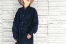 【ユニクロユー】デニムシャツコートのコーデ。サイズ感も2020AW