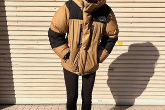 【ノースフェイス】バルトロライトジャケットのコーデ。サイズ感も