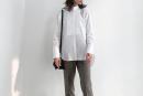 【ユニクロ+J】スーピマコットンタックシャツ&オーバーサイズシャツのコーデ。サイズ感も